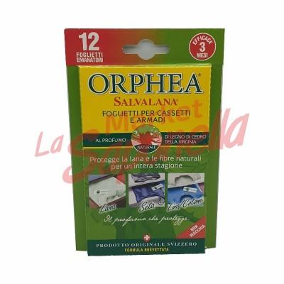 Folii Orphea pentru sertare si dulapuri-lemn de cedru 12 buc